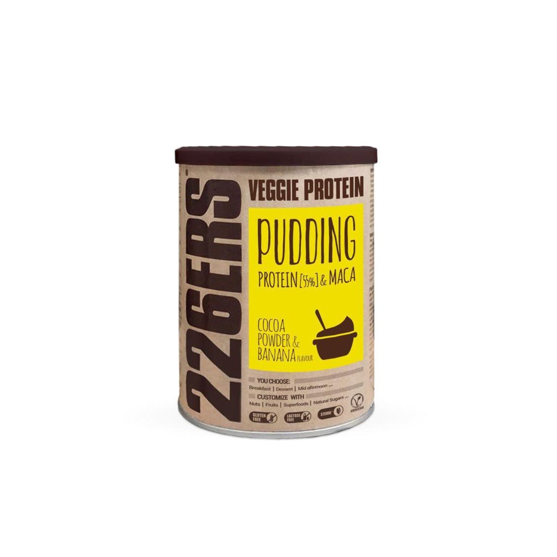VEGGIE PROTEIN PUDDING - Proteína de guisante + Maca