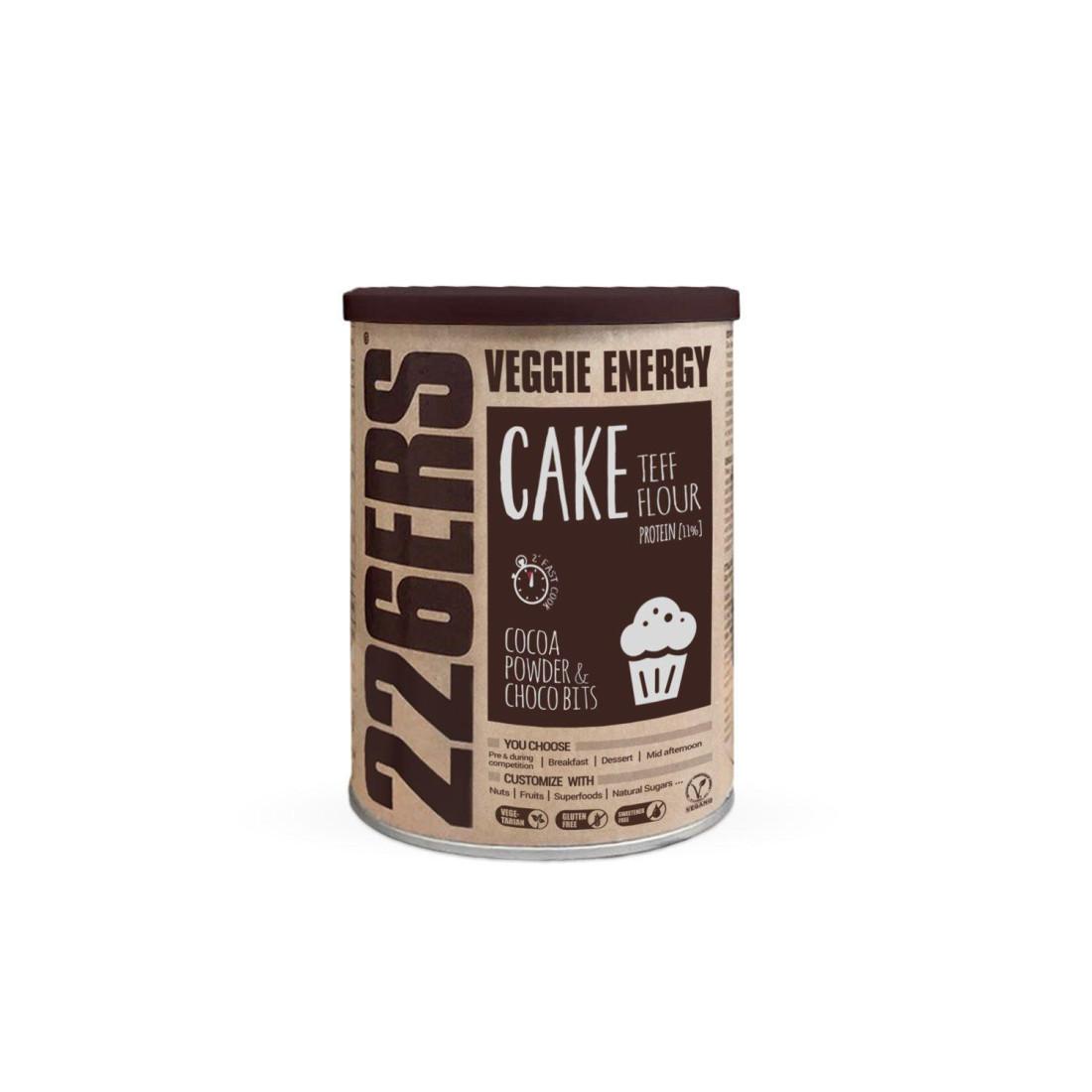 VEGGIE ENERGY CAKE - Harina de teff +...